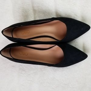 NWT Cato suede pumps